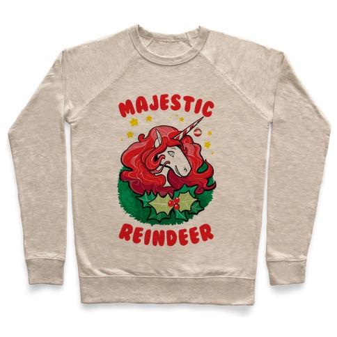 Majestic Reindeer Pullover