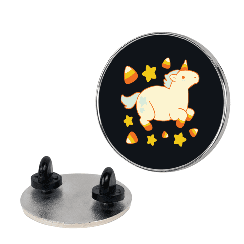 Uni-Candy Corn pin