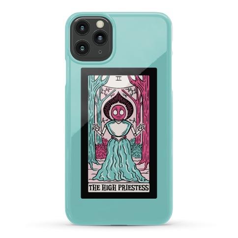 The High Priestess Flatwoods Monster Tarot Card Parody Phone Case