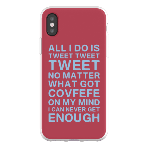 Got Covfefe On My Mind Phone Flexi-Case