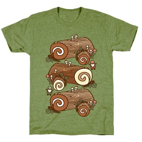 Holiday Yule Logs T-Shirt