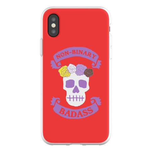 Non-Binary Badass Phone Flexi-Case