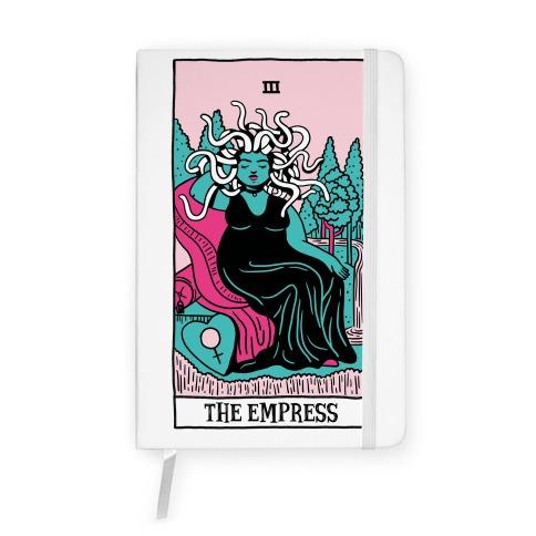 Creepy Cute Tarots: The Empress Medusa Notebook