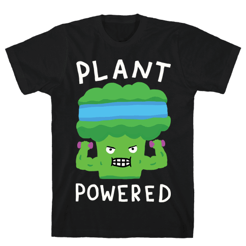 Plant Powered Mens T-Shirt