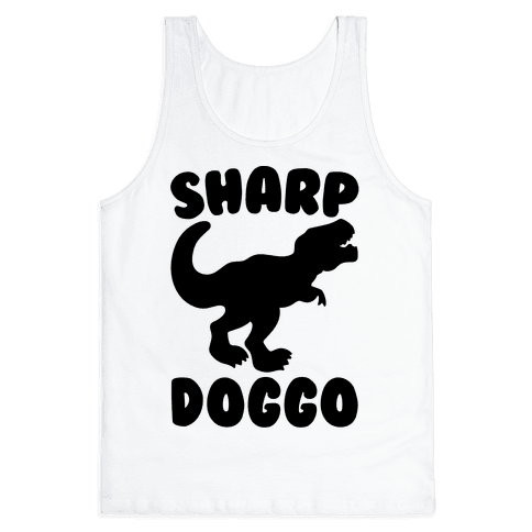 Sharp Doggo Tank Top