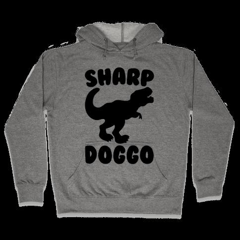 Sharp Doggo Hooded Sweatshirt