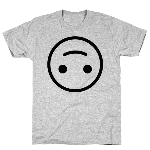 Upside-down Smiley Mens T-Shirt