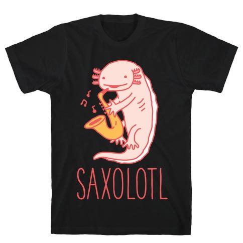 Saxolotl Mens/Unisex T-Shirt