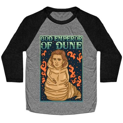 God Emperor Of Dune Timothe Chalamet Baseball Tee