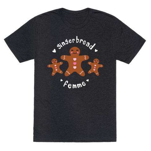 Gingerbread Femme T-Shirt