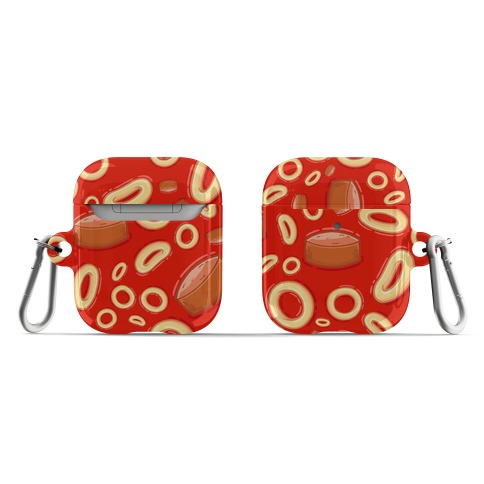 Spaghettios With Franks Pattern AirPod Case