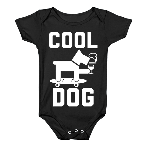 Cool Dog Baby Onesy