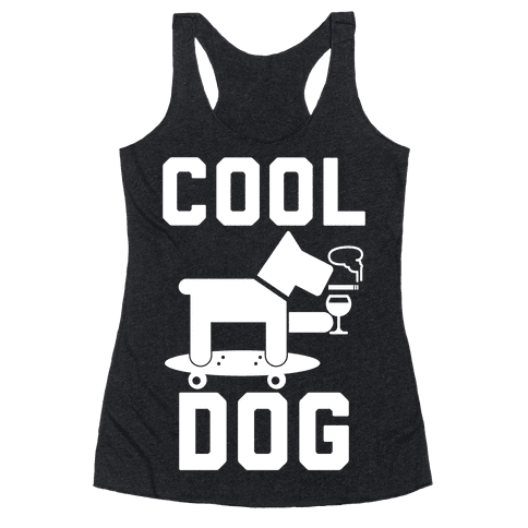 Cool Dog Racerback Tank Top