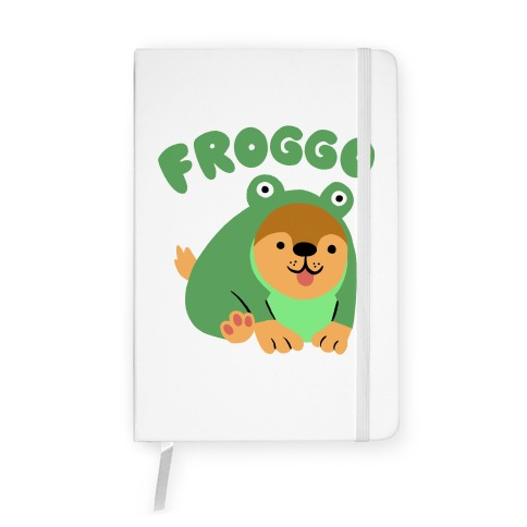 Froggo Doggo Frog Notebook