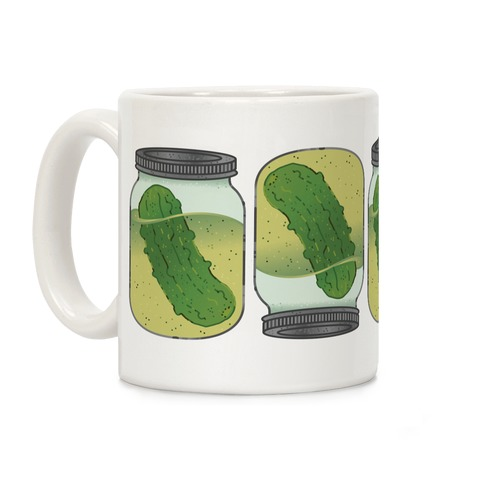 Perfect Pickle Pattern Coffee Mug