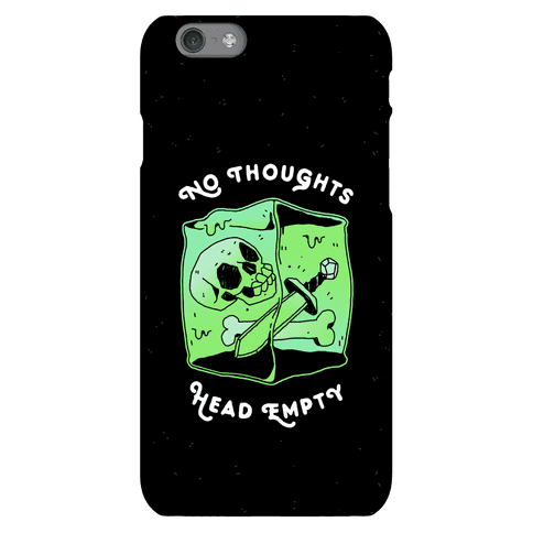No Thoughts, Head Empty (Gelatinous Cube) Phone Case