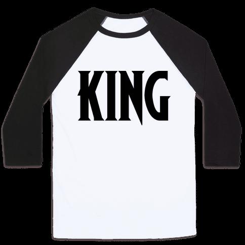 King Parody Baseball Tee