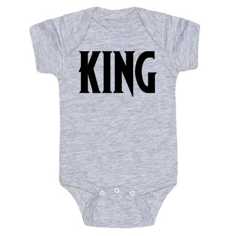 King Parody Baby Onesy