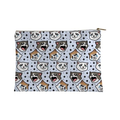 Crying Cats Accessory Bag