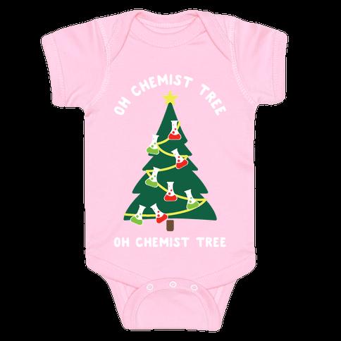 Oh Chemist tree Oh Chemist tree Baby Onesy
