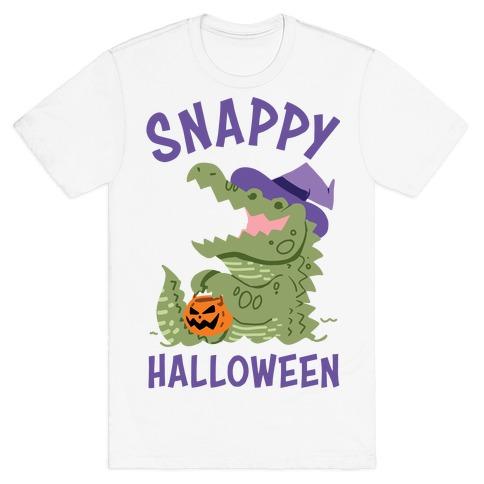 Snappy Halloween Mens/Unisex T-Shirt