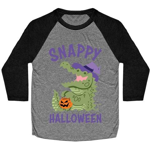 Snappy Halloween Baseball Tee