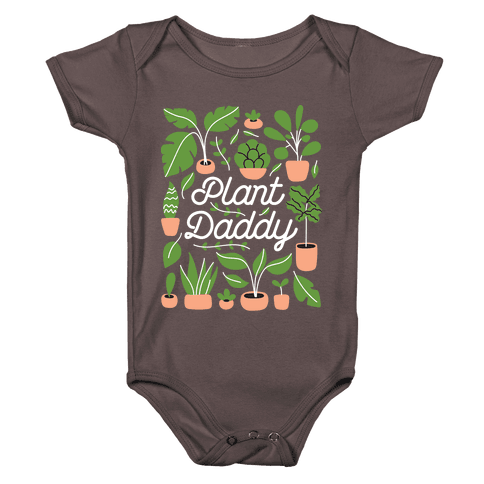 Plant Daddy Baby One-Piece