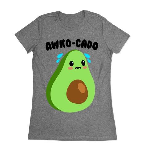 Awko-Cado Avocado Womens T-Shirt