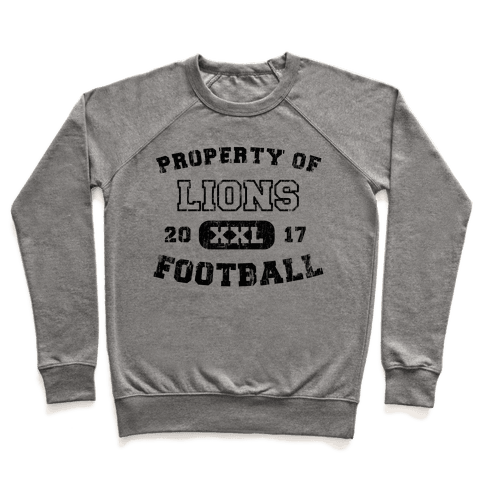 Property of Lions Football test Pullover