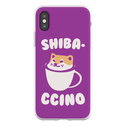 Shibaccino Phone Flexi-Case