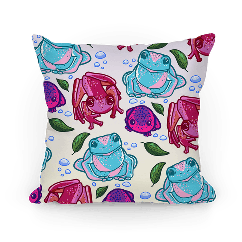 Love the Frog-Gays Pillow