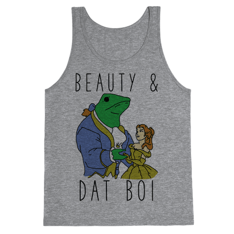 Beauty And Dat Boi Tank Top