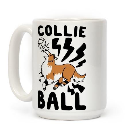 Collie Ball Coffee Mug