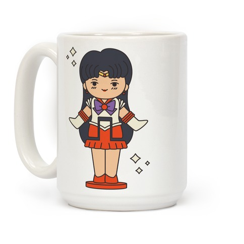 Sailor Mars Pocket Parody Coffee Mug