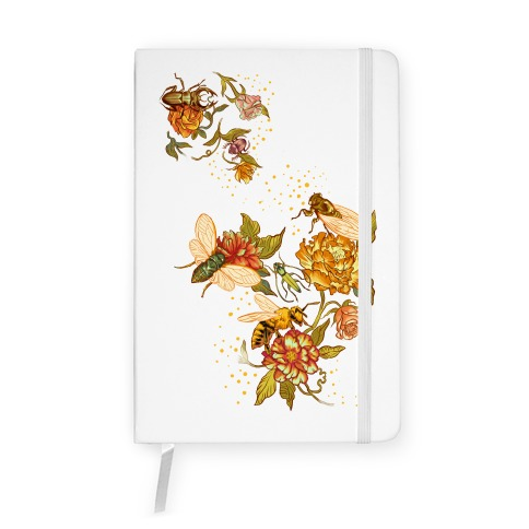 Florals & Insects Notebook