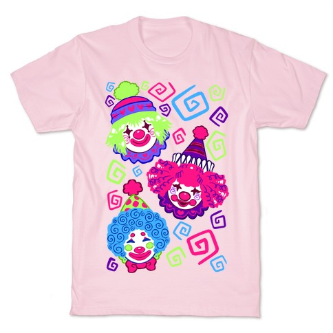 Kawaii Clowns T-Shirt