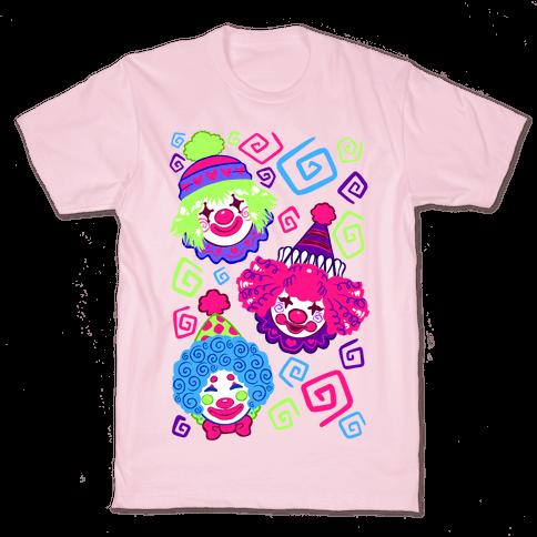 Kawaii Clowns Mens/Unisex T-Shirt