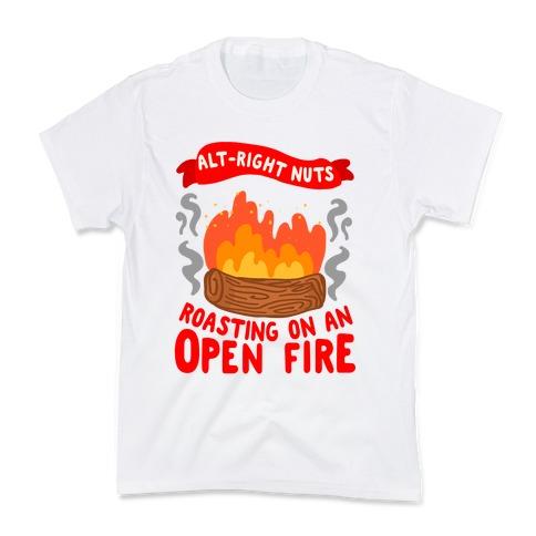 Alt-Right Nuts Roasting on An Open Fire Kids T-Shirt