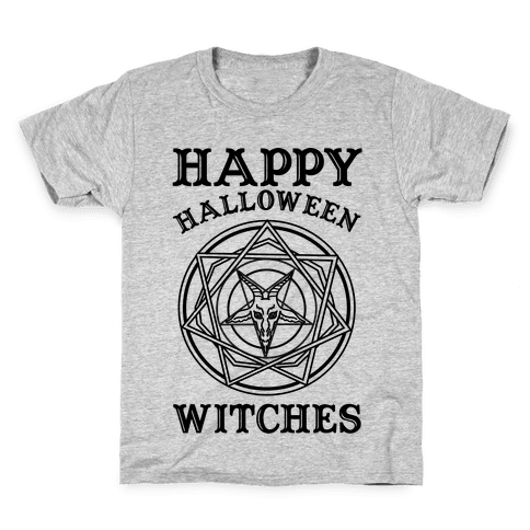 15db77521 Happy Halloween Witches Kids T-Shirt
