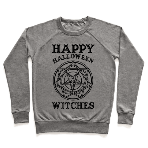 Happy Halloween Witches Pullover