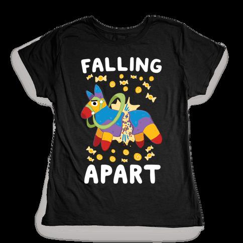 Falling Apart Pinata Womens T-Shirt