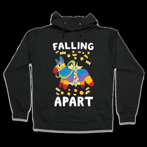 Falling Apart Pinata Hooded Sweatshirt
