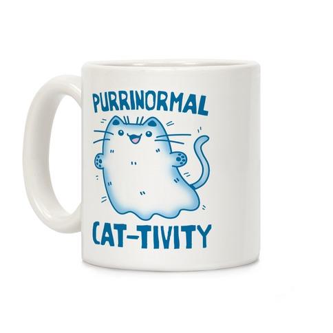 Purrinormal Cat-tivity Coffee Mug