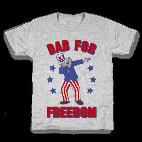 DAB FOR FREEDOM Kids T-Shirt
