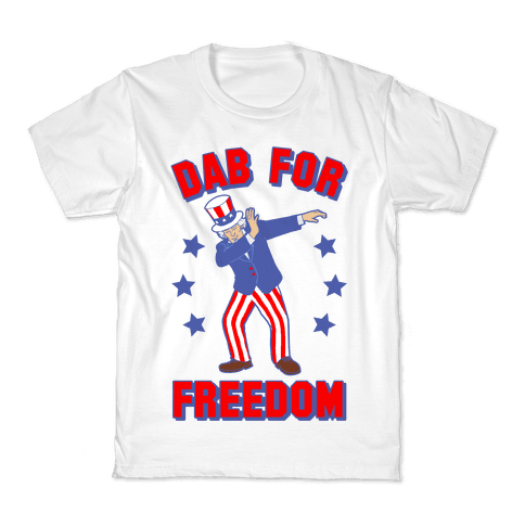 DAB FOR FREEDOM Kids T-Shirt