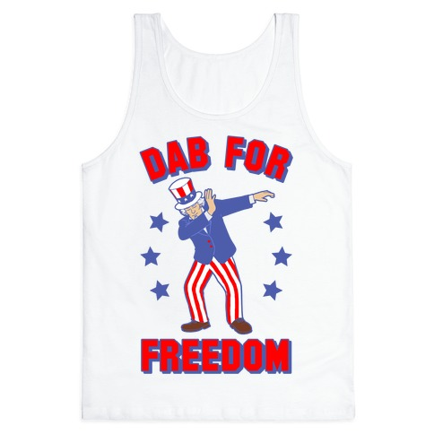 DAB FOR FREEDOM Tank Top