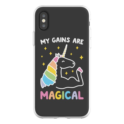 My Gains Are Magical Phone Flexi-Case