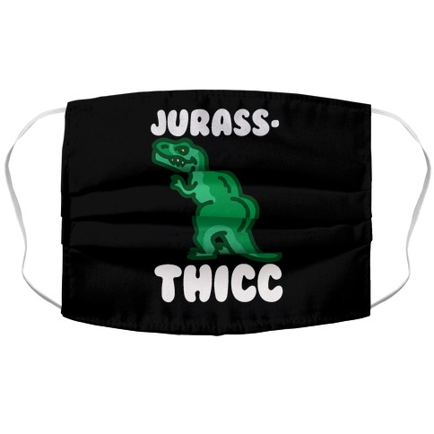 Jurassthicc Parody Accordion Face Mask