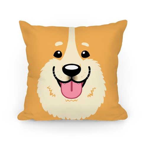 Corgi face Pillow
