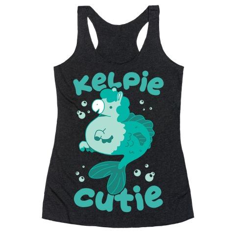 Kelpie Cutie Racerback Tank Top